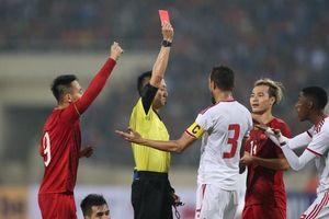 Xuất thần Tiến Linh và chiếc thẻ đỏ nghiệt ngã của UAE