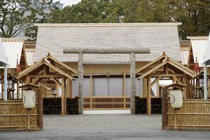 Khu đền 18 triệu USD nơi Nhật hoàng thực hiện nghi lễ với nữ thần