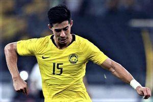 Bredan Gan sút tung lưới Thái Lan, gỡ hòa cho Malaysia