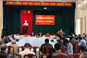 Đoàn Đại biểu HĐND TP tiếp xúc cử tri quận Cầu Giấy