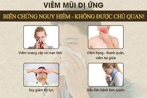 Điều trị viêm mũi dị ứng thế nào?