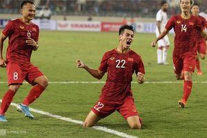 Thắng UAE, Việt Nam dẫn đầu bảng G vòng loại World Cup 2022