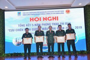 Hội CCB PV Drilling tổng kết phong trào 'Cựu chiến binh gương mẫu' giai đoạn 2014-2019