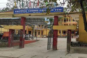 Bắt giam ba cán bộ trường trung cấp Lục Yên