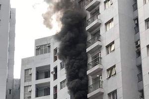 Hà Nội: Cháy căn hộ ở chung cư CT2A tại quận Đống Đa trong lúc chủ hộ đi vắng