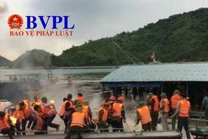 Người dân ném bom xăng phản đối cưỡng chế ở Vân Đồn, 3 cán bộ trọng thương