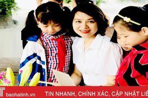 2 giáo viên Hà Tĩnh được tặng giải thưởng 'Nhà giáo trẻ tiêu biểu' cấp Trung ương
