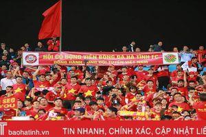 Cổ động viên Hà Tĩnh vỡ òa với chiến thắng của ĐT Việt Nam trước UAE