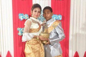 Mạng xã hội xôn xao trước đám cưới của cô dâu 21 tuổi lấy chú rể 14