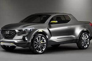 Hãng Huyndai sẽ sản xuất xe Santa Cruz ở Mỹ vào năm 2021