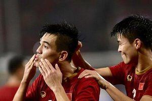 Trực tiếp bóng đá vòng loại WC 2022 Việt Nam vs UAE: Tiến Linh tung cú sút 'quỷ khốc thần sầu' xé toạc lưới UAE