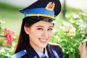 Nữ sinh Học viện Cảnh sát xinh đẹp, mê đàn tranh từ 10 tuổi