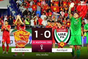 Báo Thái: 'Việt Nam thắng ấn tượng, chúng ta thua bạc nhược'