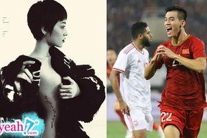Mừng đội tuyển Việt Nam chiến thắng, Bảo Anh đăng hình khoe trọn vóc dáng cực quyến rũ