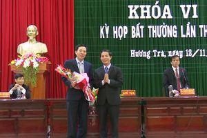 Nguyên Giám đốc Sở Lao động - Thương binh và Xã hội Thừa Thiên - Huế được bầu giữ chức Chủ tịch thị xã Hương Trà