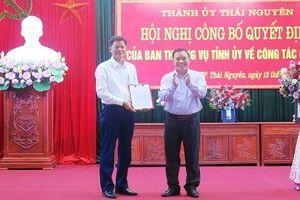 Thành phố Thái Nguyên có Chủ tịch mới