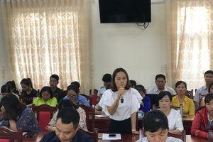 Hội nghị chuyên đề hoạt động của MTTQ ở cơ sở