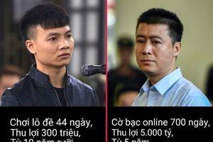 Cùng tội tổ chức đánh bạc nhưng vì sao Khá Bảnh lĩnh án nặng hơn Phan Sào Nam?