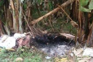 Chồng giết vợ rồi đốt xác phi tang ngay tại nhà
