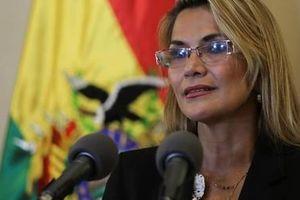Tổng thống lâm thời Bolivia muốn bầu cử 'càng sớm càng tốt'