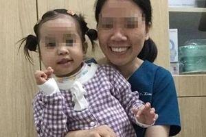 Điều trị thành công cho bệnh nhi 4 tuổi bị u quái hỗn hợp vùng mặt