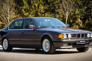 BMW 750i động cơ V16 - mẫu concept không bao giờ được đưa vào sản xuất