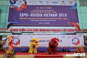 Triển lãm quốc tế Việt Nam - Nga: Đưa hợp tác thương mại song phương vào thực chất