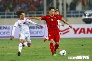 Bảng xếp hạng vòng loại World Cup 2022: Tuyển Việt Nam chiếm ngôi đầu