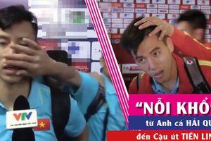 Video 'nỗi khổ' được 'yêu' của cầu thủ xuất sắc Tiến Linh