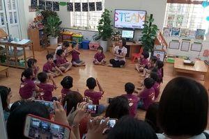 Đột phá trong ứng dụng phương pháp giáo dục STEAM tại Trường Mầm non Mai Dịch Chất lượng cao