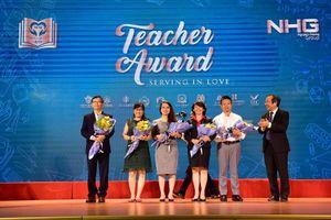 NHG's Teacher Award 2019: Trao tặng 51 trái tim vàng cho thầy cô giáo