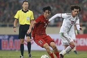 Thắng UAE, đội tuyển Việt Nam nhảy vọt trên bảng xếp hạng FIFA