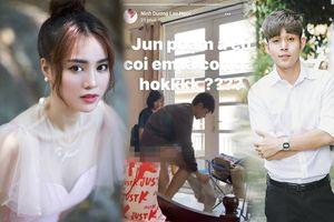 Ninh Dương Lan Ngọc gây tranh cãi khi đăng clip nhạy cảm của Jun Phạm