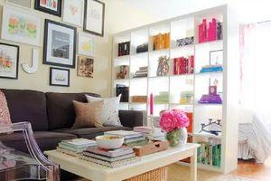 Những kiểu tường ngăn phí thấp, giúp nhà đẹp ấn tượng