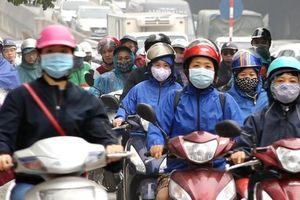 Ô nhiễm không khí Hà Nội vẫn ở mức cao