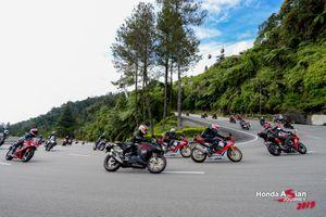 Thỏa sức trải nghiệm xe phân khối lớn tại Honda Asian Journey 2019