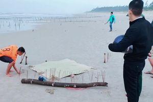 Thi thể nữ giới không đầu dạt vào bờ biển Quảng Nam có thể từ 2 tháng trước