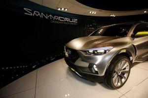 Hyundai chốt thời gian, địa điểm sản xuất xe bán tải Santa Cruz