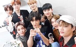 EXO vinh dự lọt top 20 'Decade-End Charts Social 50' do Billboard công bố