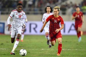 Điều bí mật về số áo lạ của Tuấn Anh, Văn Toàn trong trận thắng UAE