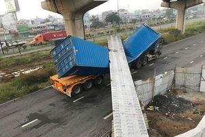 Kết quả kiểm tra chiều cao cầu bộ hành bị xe container kéo sập ở Sài Gòn