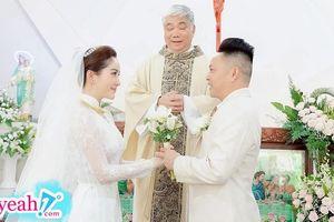 Bảo Thy hé lộ hình ảnh hiếm hoi trong lễ cưới tại nhà thờ, sẽ chọn cuộc sống bình yên sau khi lấy chồng