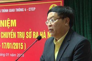 Kỷ luật khiển trách Phó tổng giám đốc Cienco 4 Nguyễn Quang Vinh