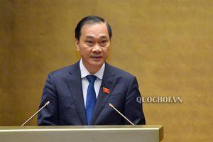 Quốc hội nghe thẩm tra dự án Luật Doanh nghiệp (sửa đổi)