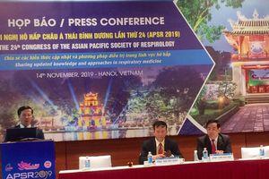 Đang diễn ra Hội nghị Hô hấp Châu Á - Thái Bình Dương lần thứ 24