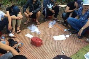Khởi tố 12 đối tượng trong sới bạc tại Lương Sơn, Thanh Hóa