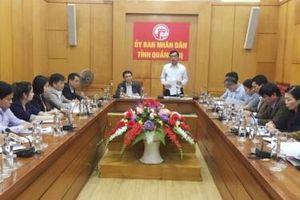 Viện Chiến lược phát triển - Bộ Kế hoạch và Đầu tư làm việc với tỉnh Quảng Trị