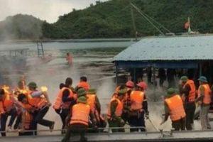 Dân ném bom xăng vào đoàn cưỡng chế ở Quảng Ninh, nhiều cán bộ bị thương