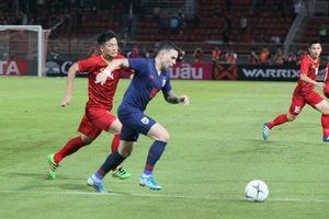 ĐT Thái Lan thuê sân riêng, tập kín chuẩn bị cho trận đối đầu với ĐT Việt Nam