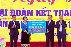 Phó Thủ tướng Vương Đình Huệ chung vui ngày đại đoàn kết tại Nghệ An